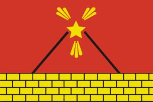 Электроугли городской флаг